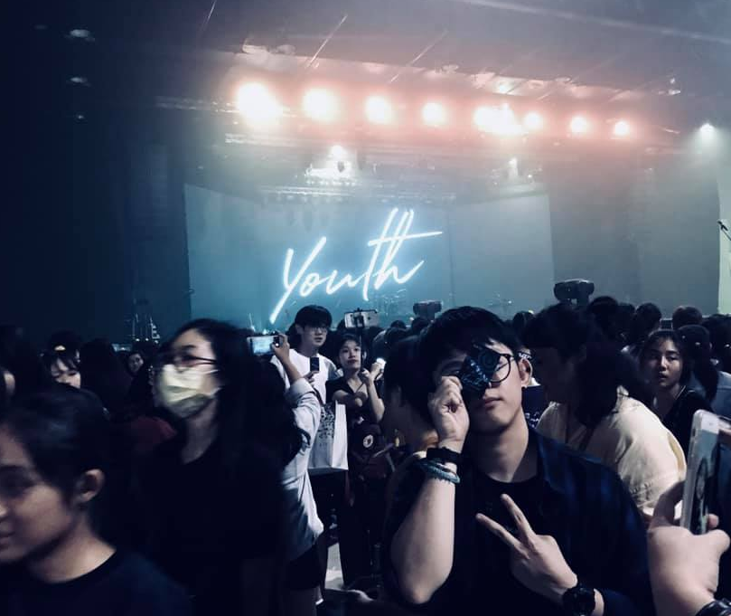"Bacon at the DAY6 1st World Tour ""Youth"" in Bangkok on 15 September 2018."