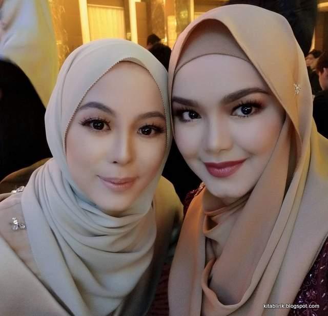 Vivy Yusof & Siti Nurhaliza.