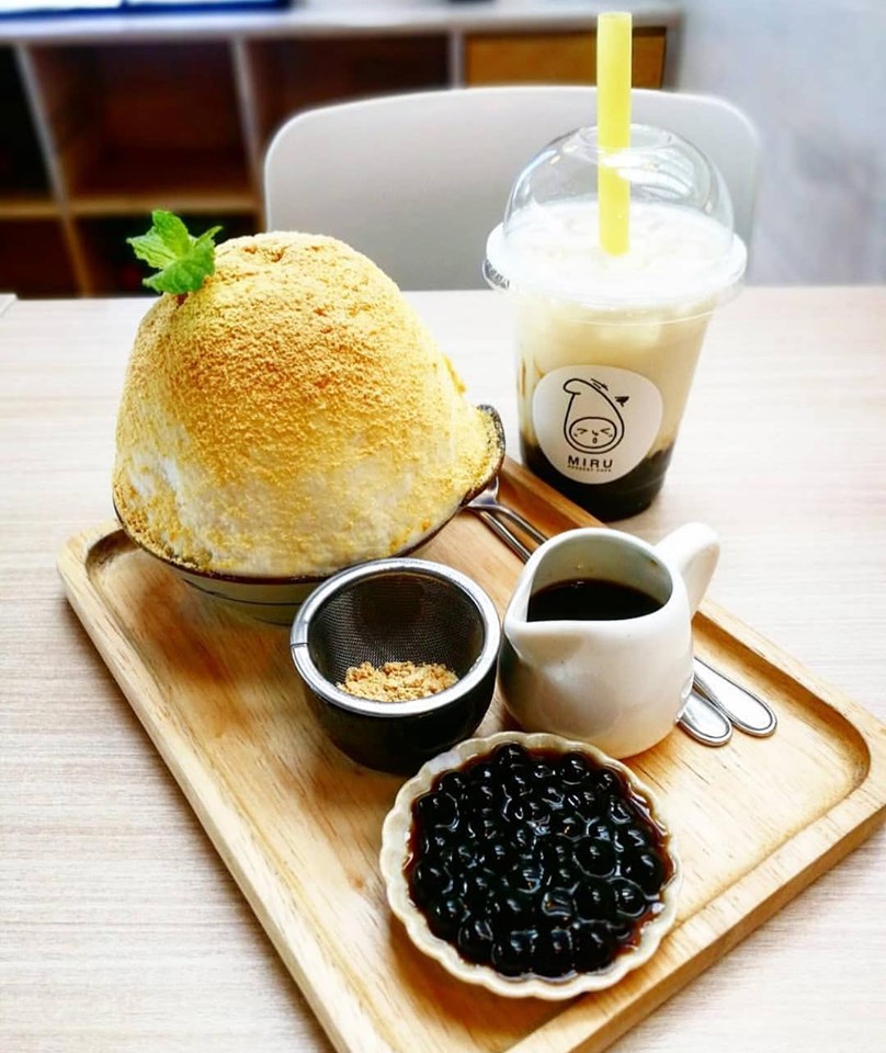 8% off brown sugar series when you order minimum 2 items from the series at Miru Dessert Cafe.