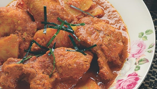 Gulai Ayam Dan Nanas MyResipi Chef Hanieliza