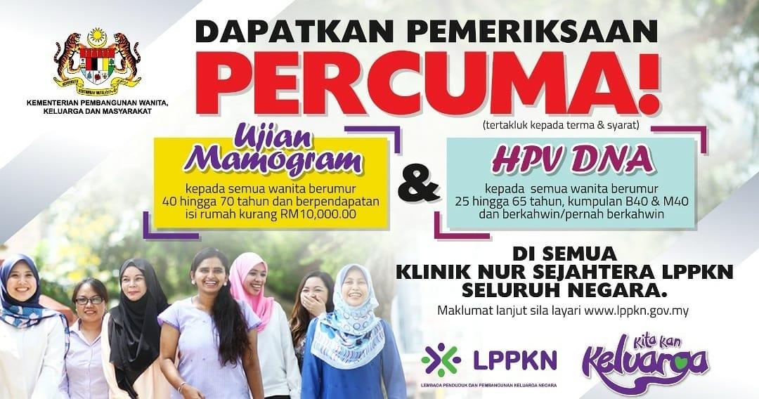 Image from Kementerian Pembangunan Wanita, Keluarga dan Masyarakat - Laman Rasmi