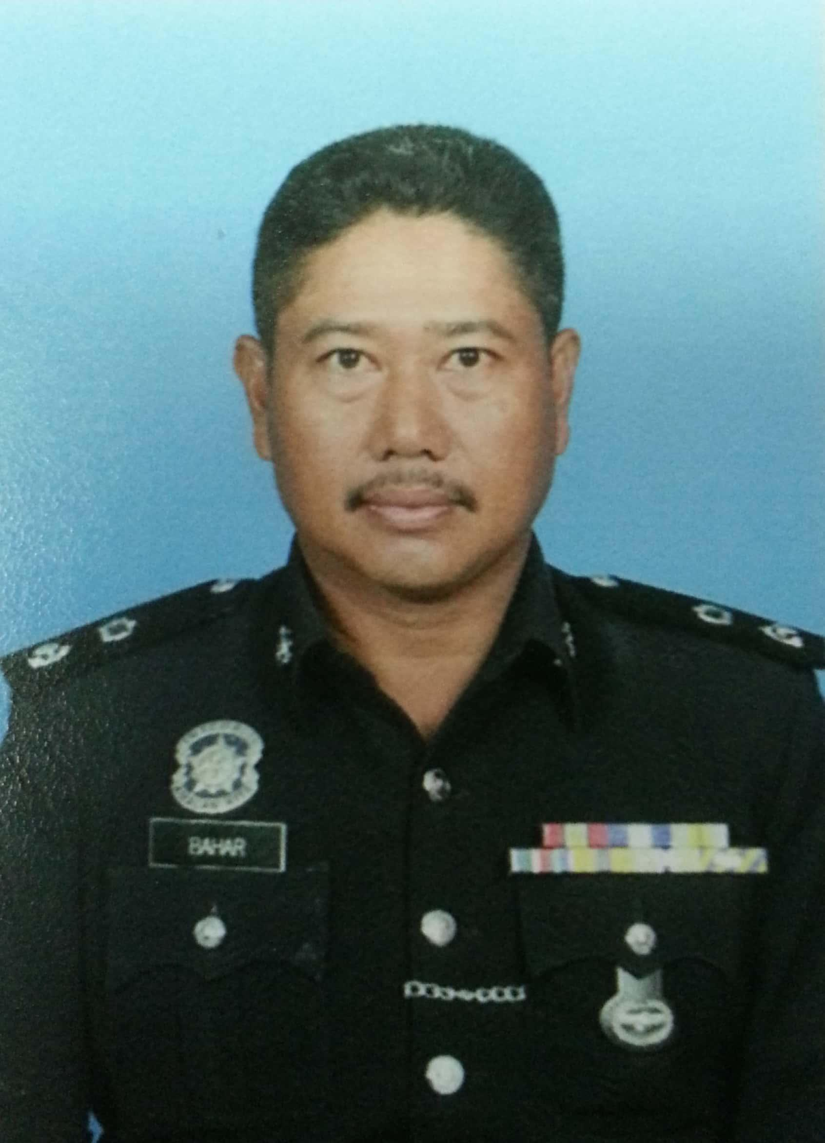 Dungun district police chief Supt Baharuddin Abdullah