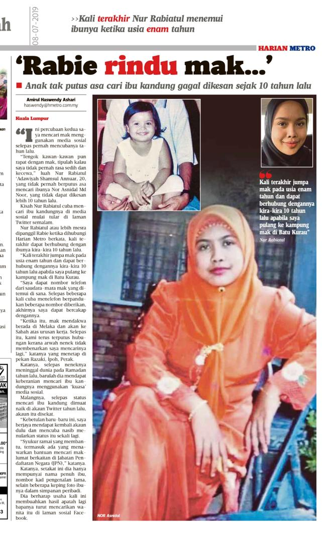 Image from Harian Metro
