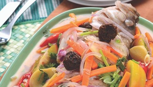 Ikan Kukus Asam Boi MyResipi Chef Hanieliza