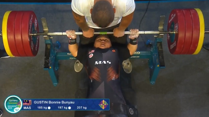 Image from Para Powerlifting