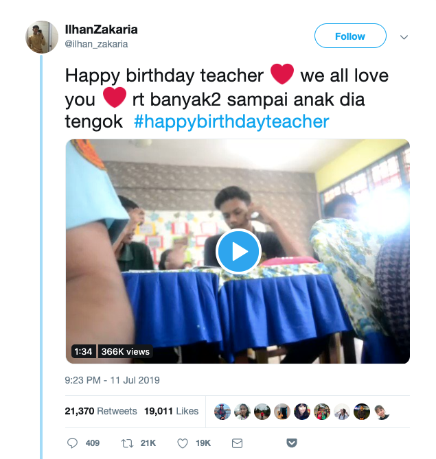 Form 5 Students Stage Fake Fight In Adorable Birthday