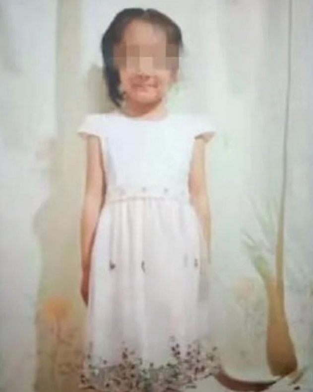 The six-year-old girl, who was identified only by her surname Li.