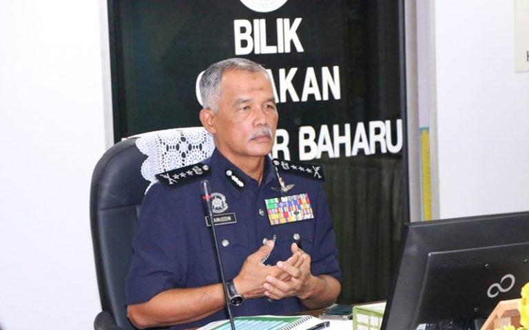 Ketua Polis Kedah, Datuk Zainuddin Yaacob.