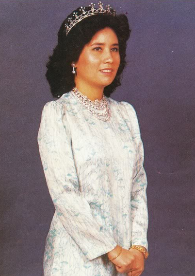 Tunku Hajah Azizah Aminah Maimunah Iskandariah.