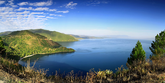 Lake Toba, Indonesia.