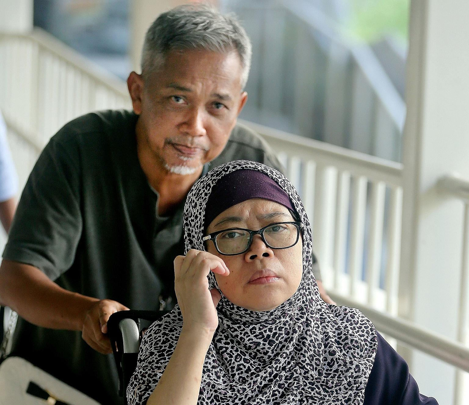 Zariah Mohd Ali  and her husband Mohamad Dahla were sentenced to jail on Thursday, 1 August.