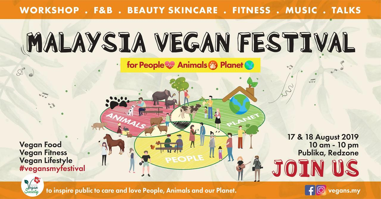 Image from Malaysia Vegan Festival/Facebook