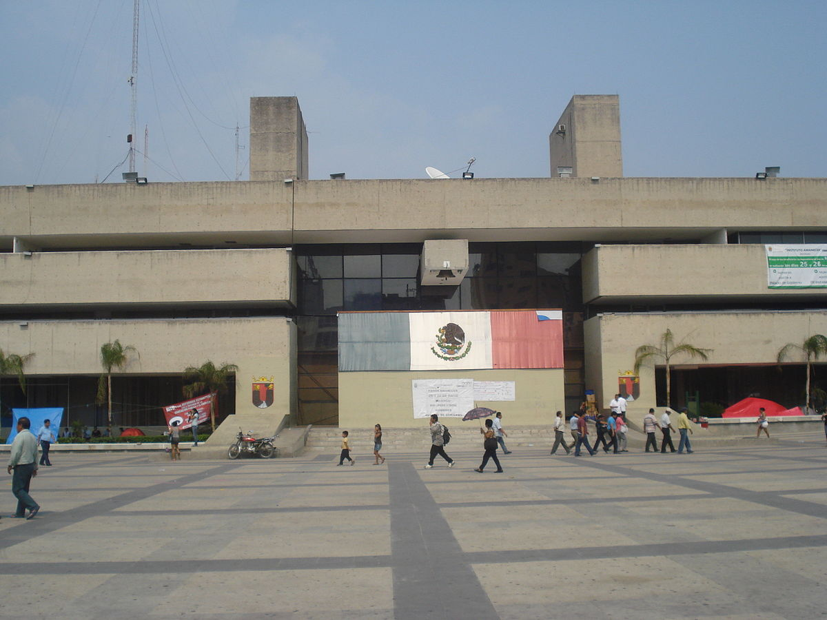 The Palace of Government of Chiapas (Governor's Office) at Tuxtla Gutiérrez