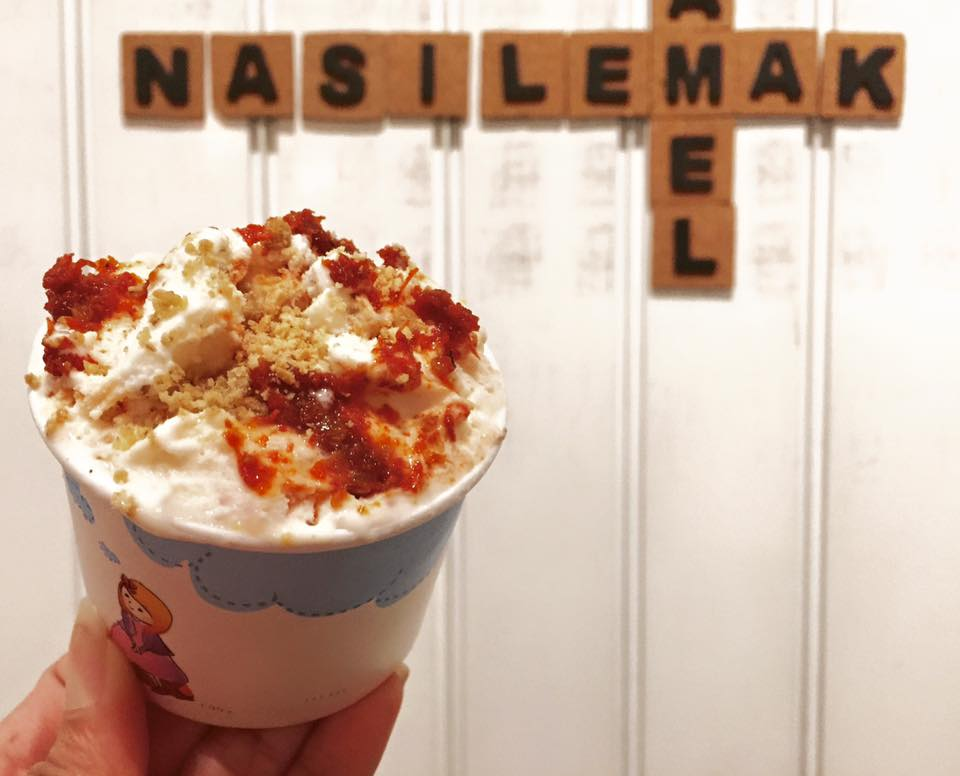 Nasi Lemak Ice Cream