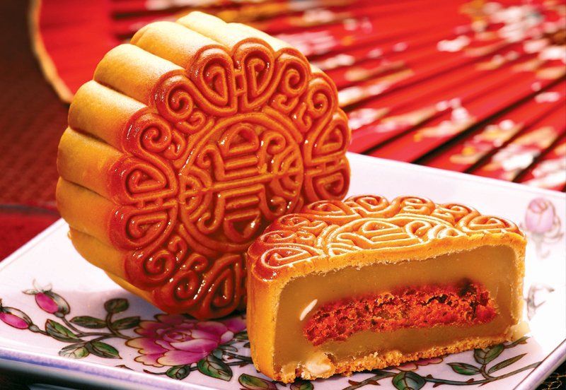 Nyonya Sambal mooncake from Yong Sheng Gift Shop.