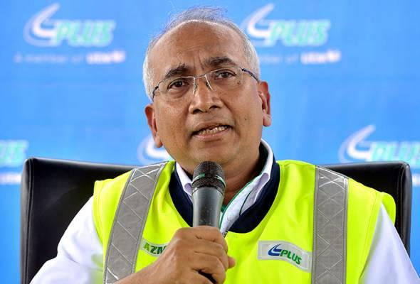 Pengarah Urusan PLUS, Datuk Azman Ismail.
