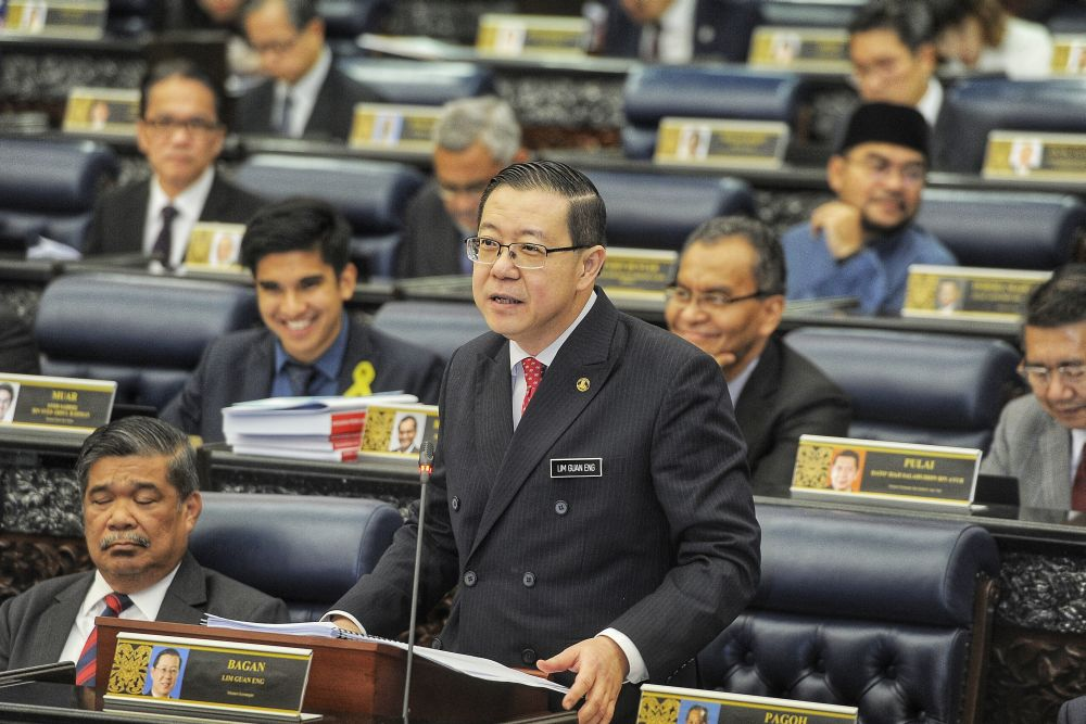Lim Guan Eng, Menteri Kewangan Malaysia