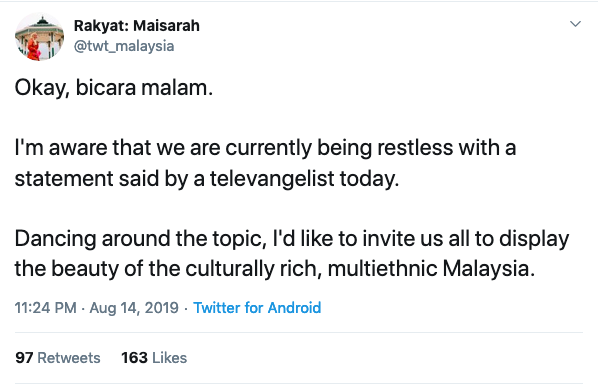 Malaysians Share Heartwarming Moments Of Unity On Twitter