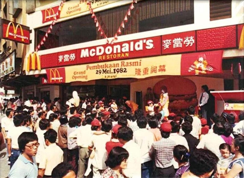 Major throwback to their grand opening 37 years ago.