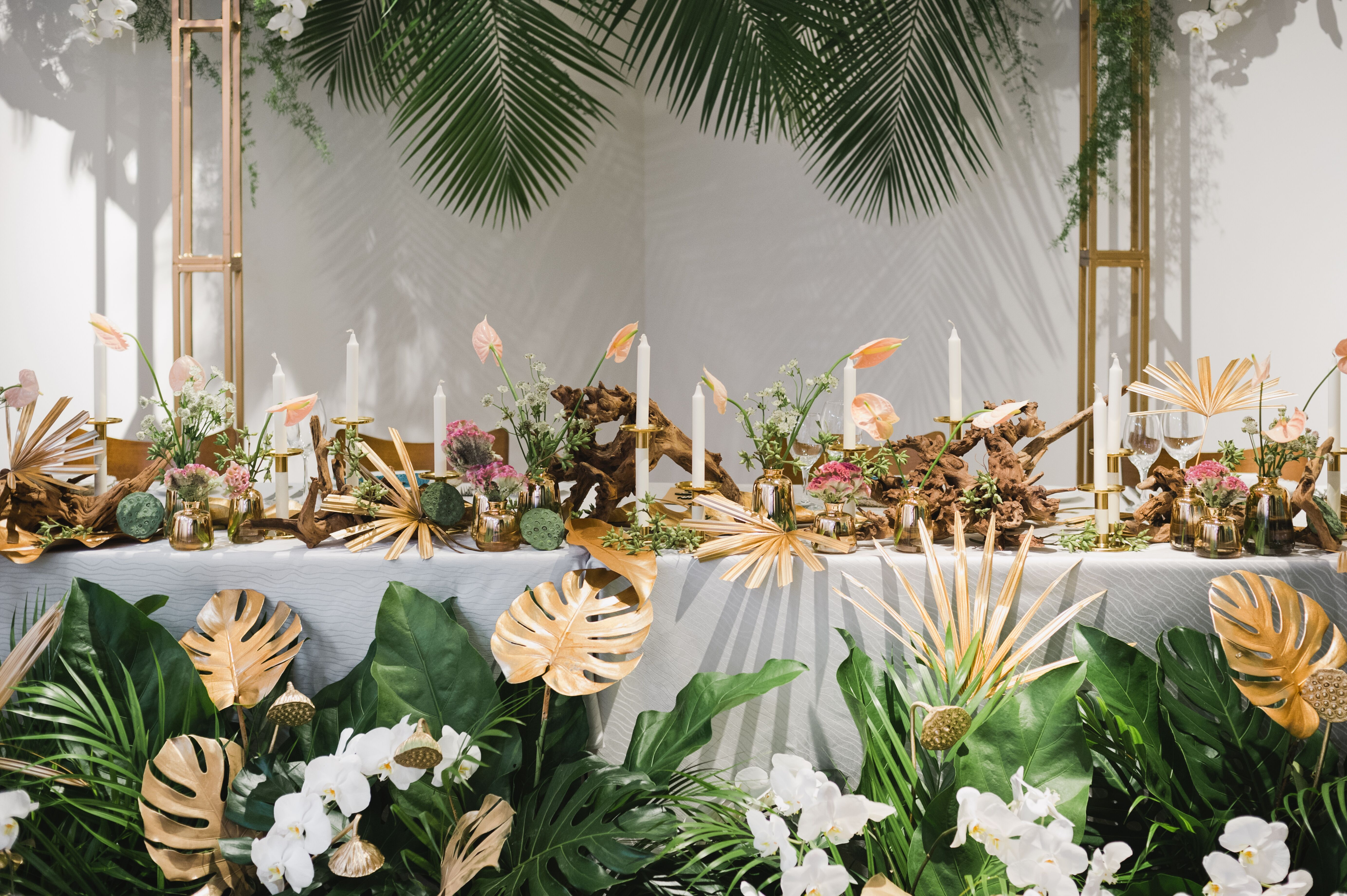 Decor by Darling Florist & Events and Tie The Knot