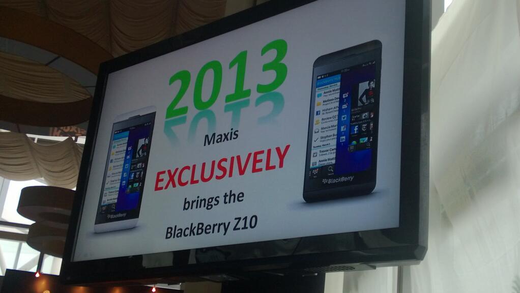 Twitter / vernieman: Maxis' journey with BlackBerry ...