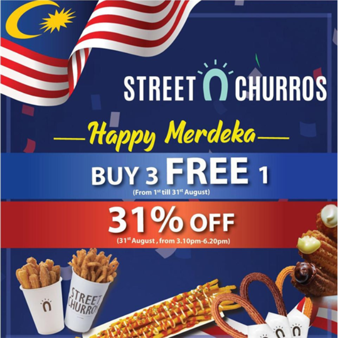 Image from Street Churros Malaysia/Facebook