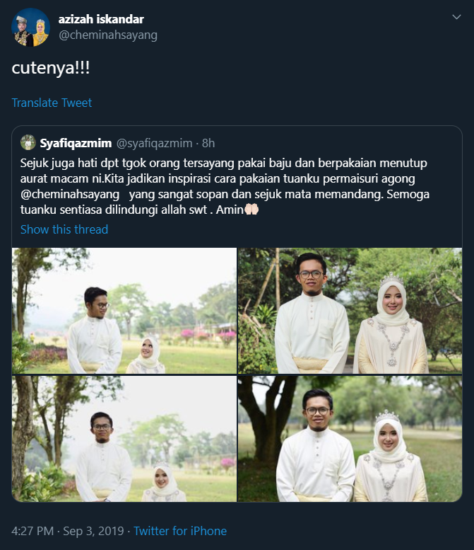 Image from Twitter @cheminahsayang