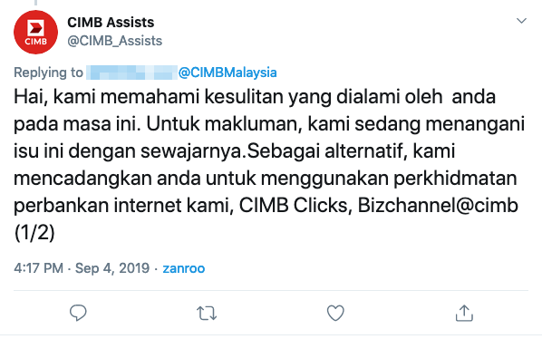 Image from Twitter @CIMB_Assists