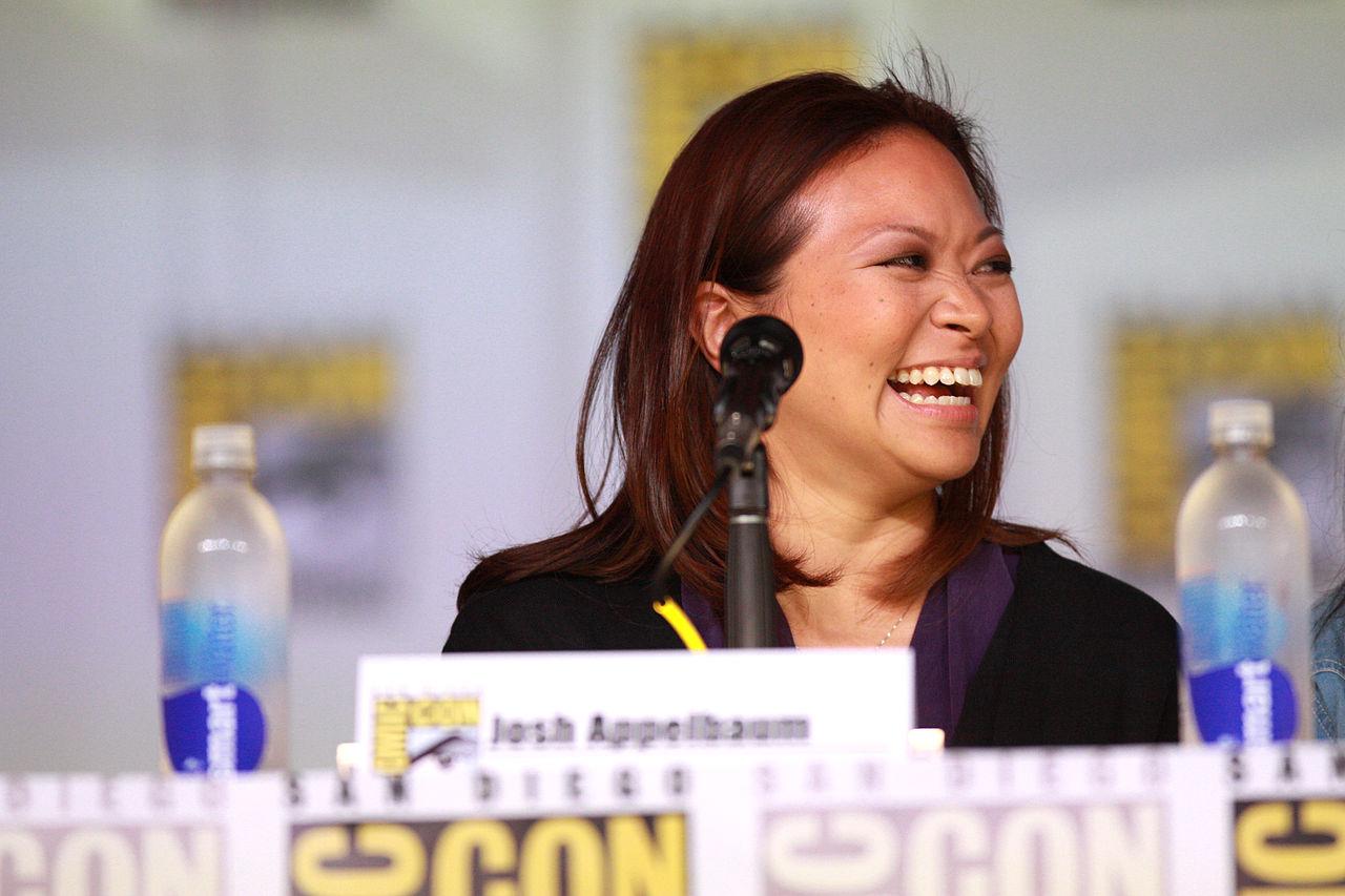 Adele Lim speaking at the 2013 San Diego Comic Con International