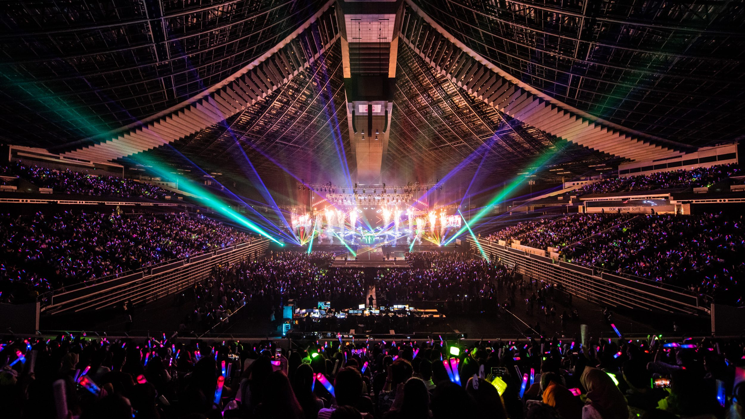 HallyuPopFest 2018 in Singapore, which featured over 100 K-pop artistes over the course three days.