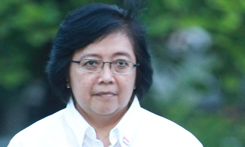 Indonesia Minister of Environment and Forestry, Siti Nurbaya