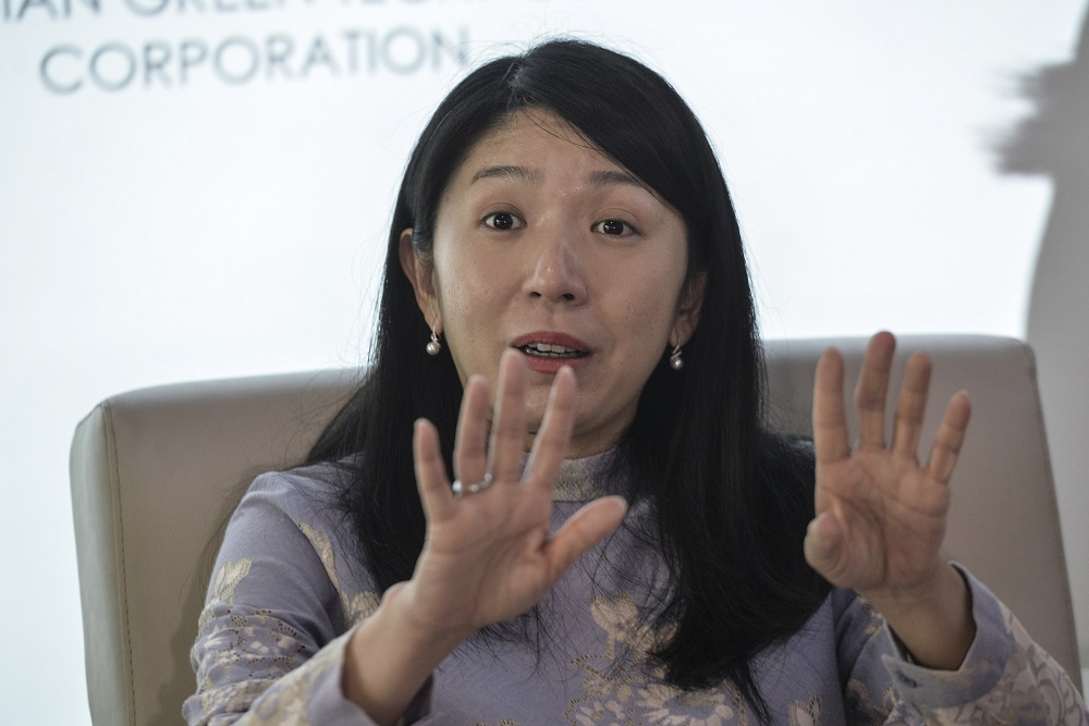 Minister of Energy, Science, Technology, Environment, and Climate Change, Yeo Bee Yin