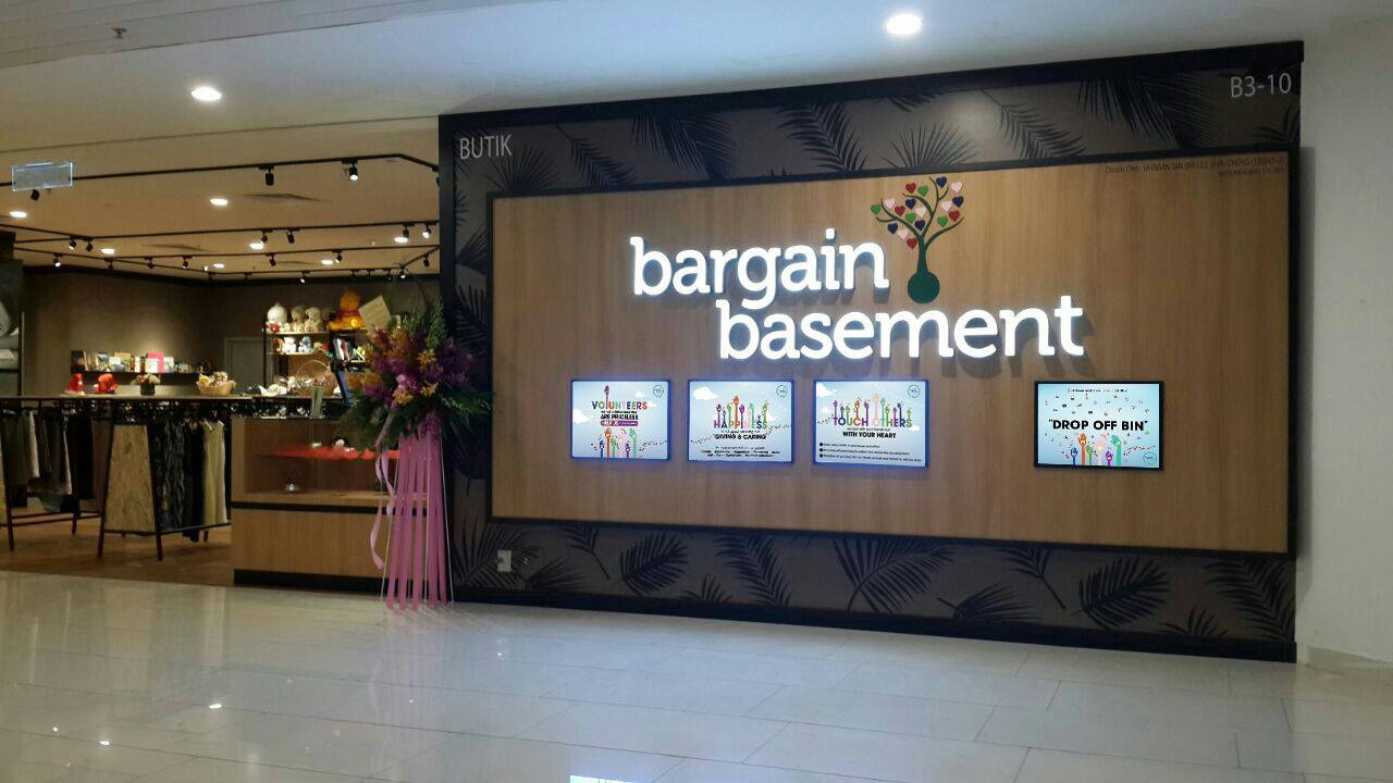 Image from Bargain Basement / Facebook