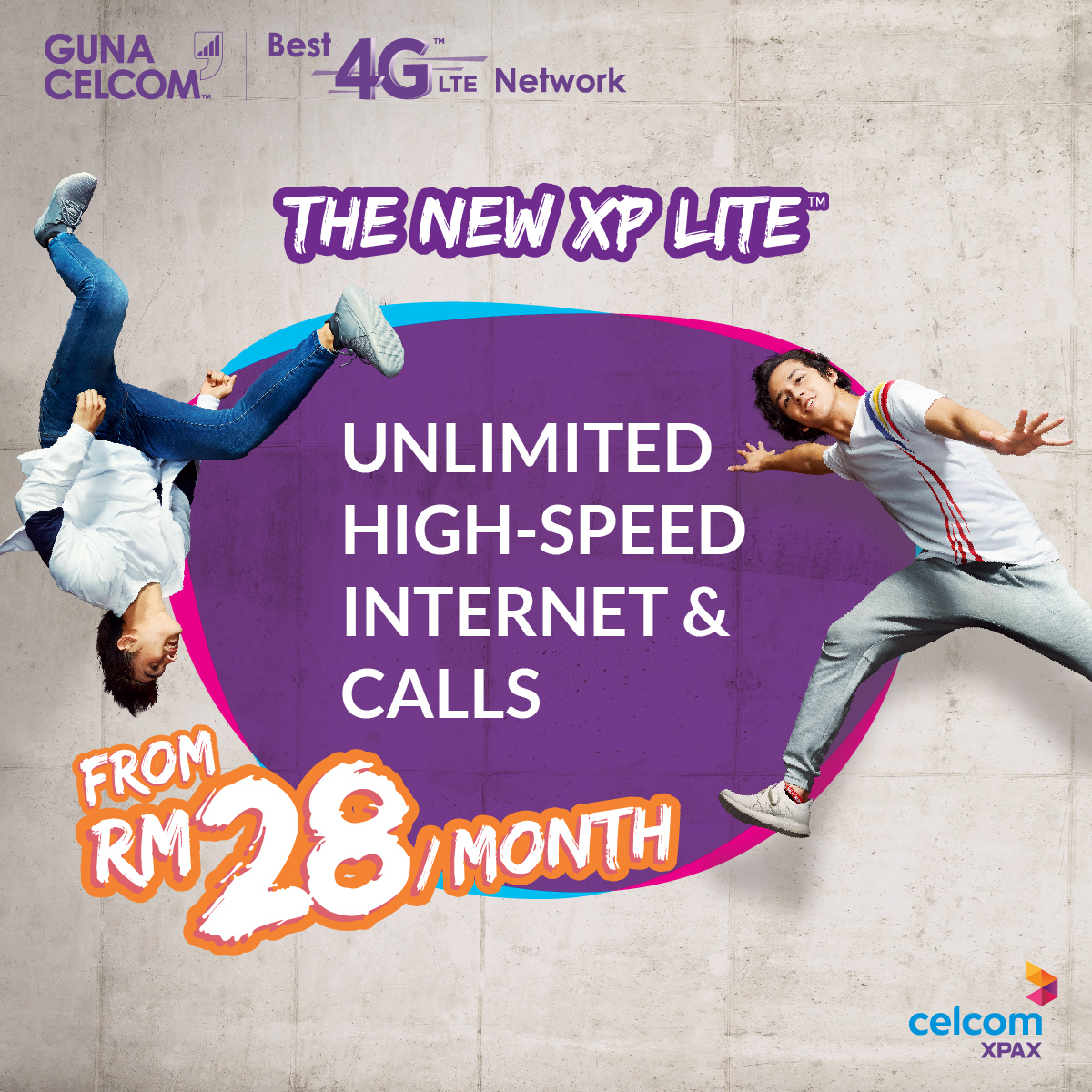 Image from Celcom Xpax