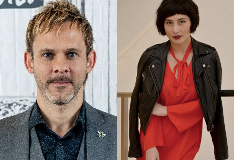 Dominic Monaghan (left) and Josie Ho (right).