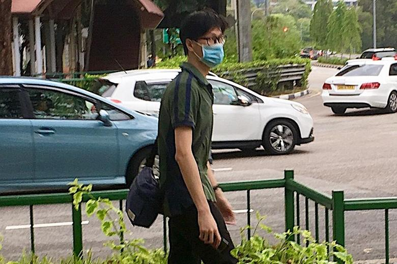 The NUS undergrad Terence Siow Kai Yuan.