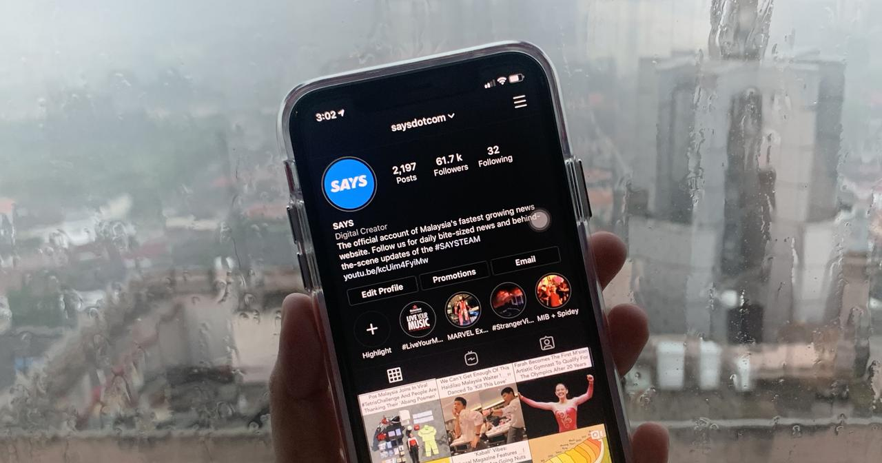Instagram update brings dark mode in iOS 13