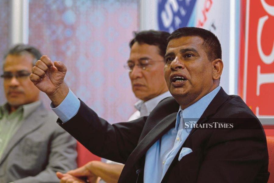 Utusan executive chairman Datuk Abd Aziz Sheikh Fadzir.