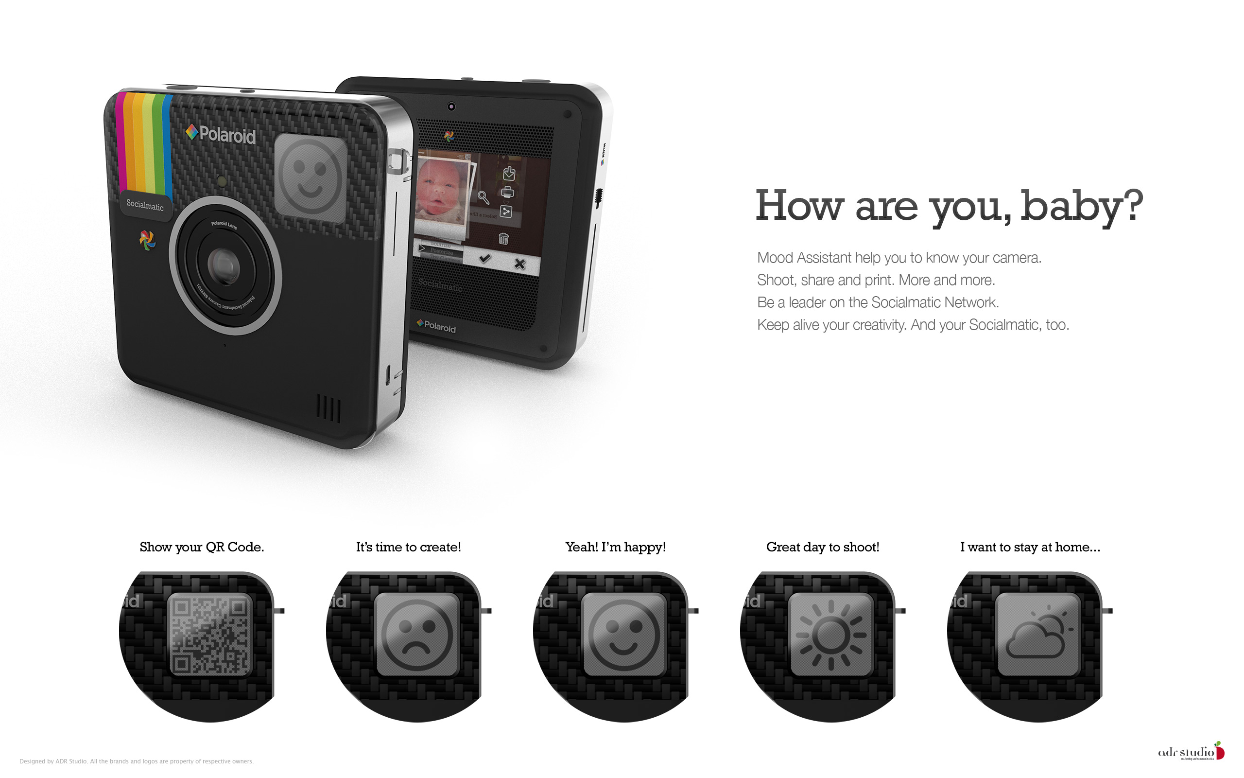 NEW UPDATE Pics Of The Polaroid Socialmatic Cam Whats Not To Like