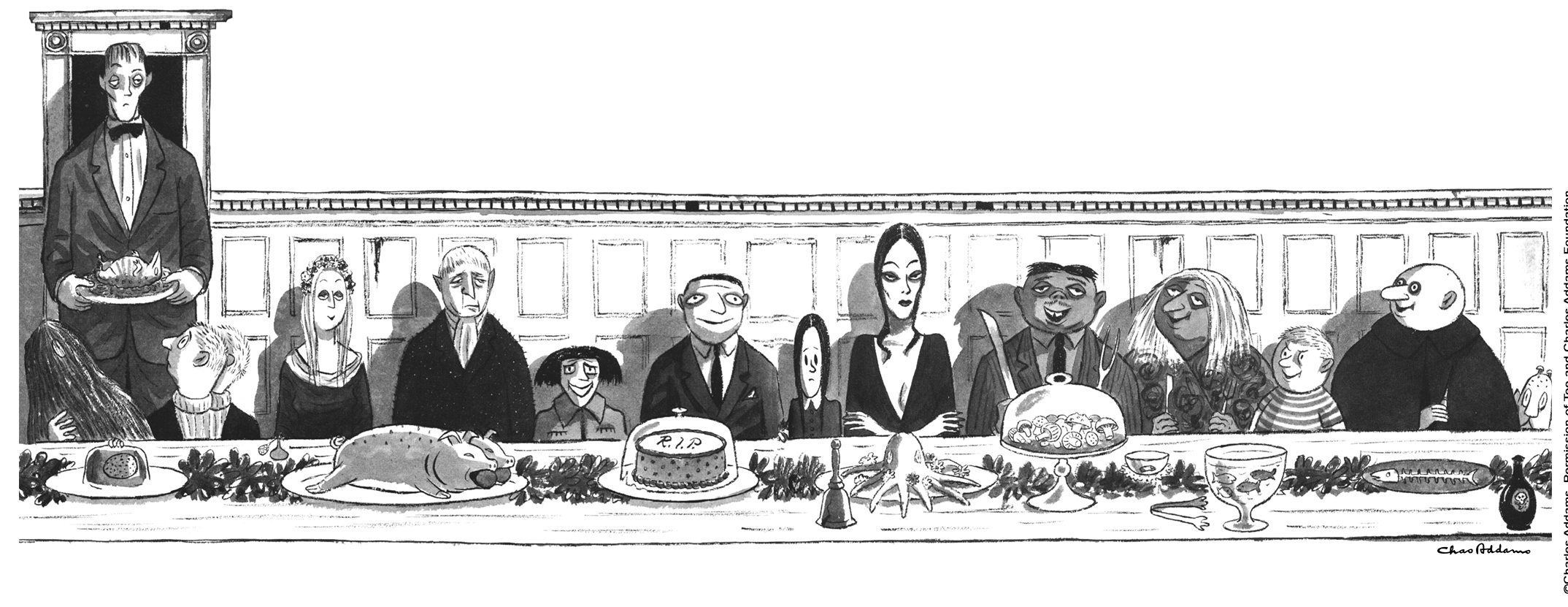 Image from The Charles Addams Foundation