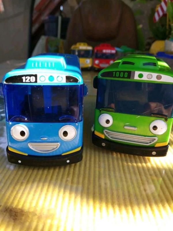 Tayo the Little Bus is a character in a popular South Korean children's cartoon series.