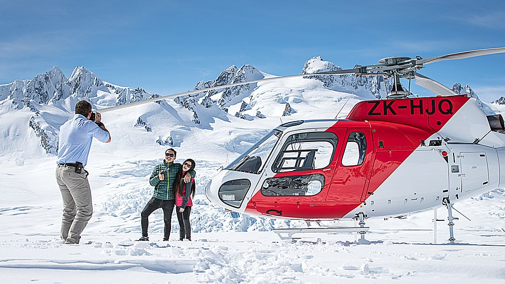Image from Glacier Helicopters New Zealand