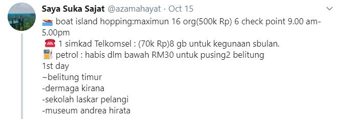 Image from Twitter @azamahayat