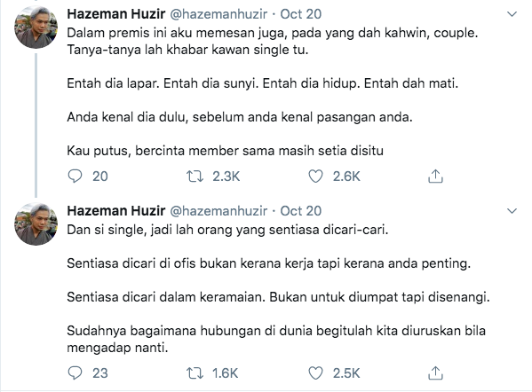 Image from Twitter @hazemanhuzir