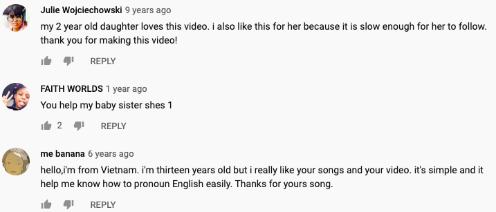 Image from Dream English Kids/YouTube