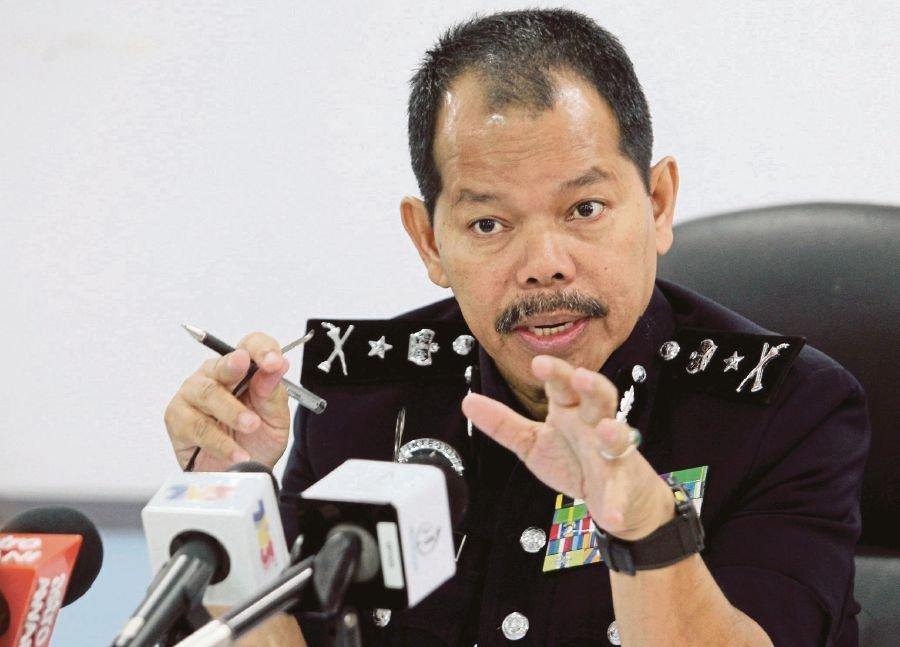 Ketua Jabatan Siasatan Jenayah Pahang, Datuk Othman Nanyan.