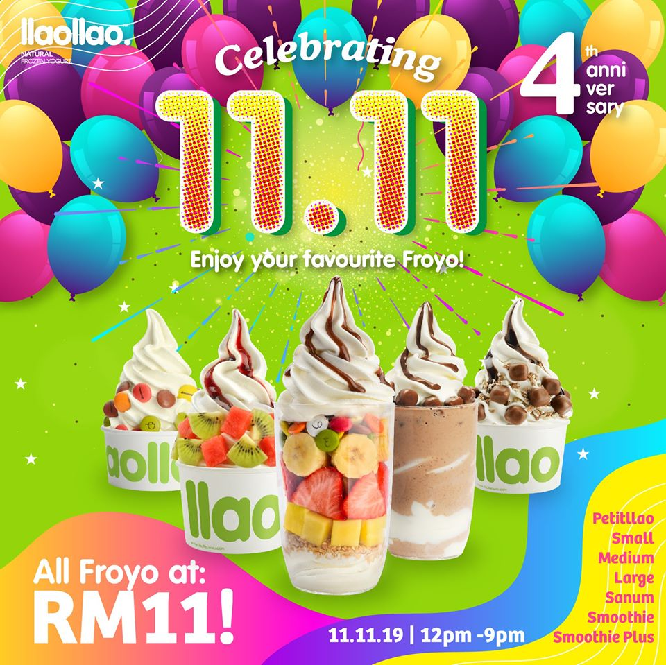 Image from Llao Llao Malaysia/Facebook