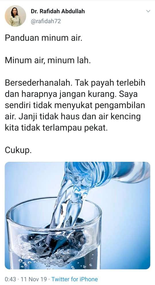 Image from Twitter @rafidah72