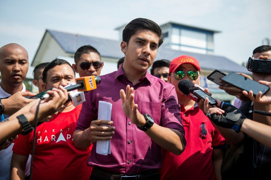 Youth and Sports Minister Syed Saddiq Syed Abdul Rahman.