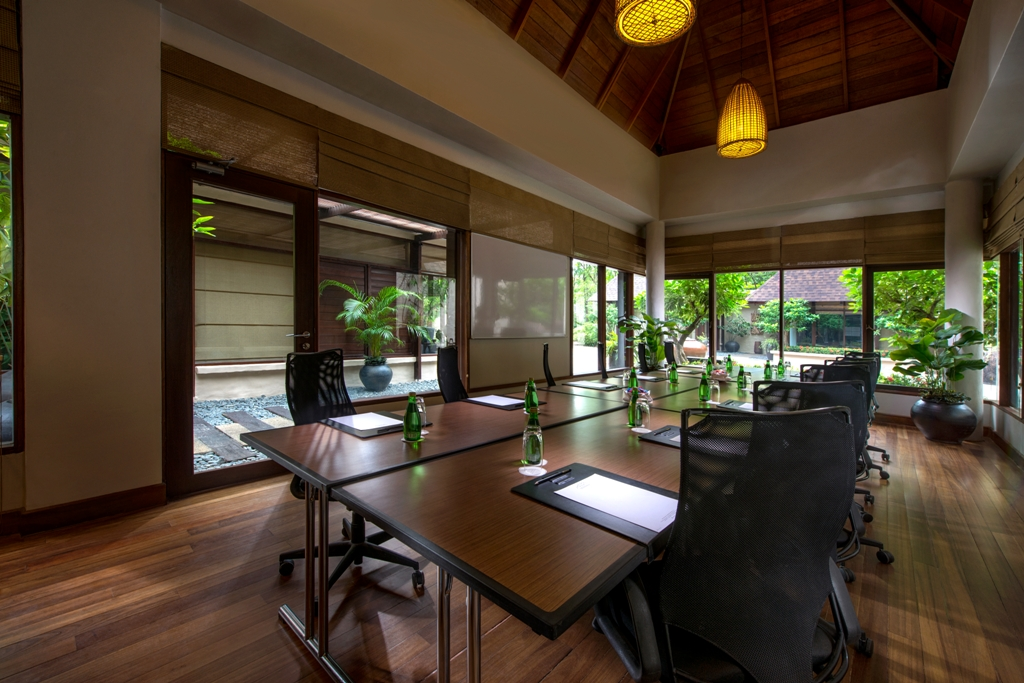 Meeting room at The Banjaran Hotsprings Retreat